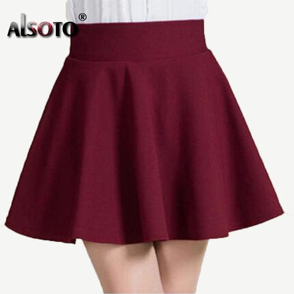 New Summer Style Sexy Skirt For Girl Lady Korean Short Skater Fashion Female Mini Skirt Women Clothing Bottoms Womens > Clothing & Apparel >