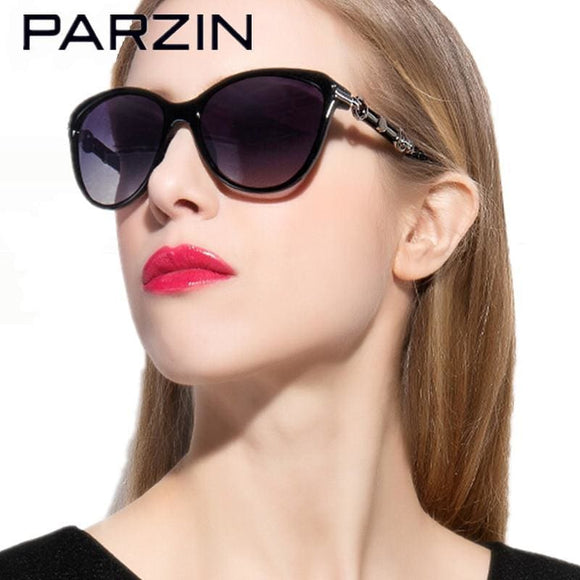 Parzin Polarized Sunglasses Women Female Sun Glasses Ladies Driving Glasses Oculos De Sol Feminino Shades With Case 9500 Apparel &