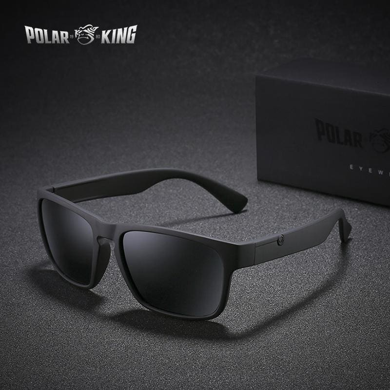 a4ed94edb6ee Polarking Brand Polarized Sunglasses For Men Plastic Oculos De Sol Mens  Fashion Square Driving Eyewear Travel