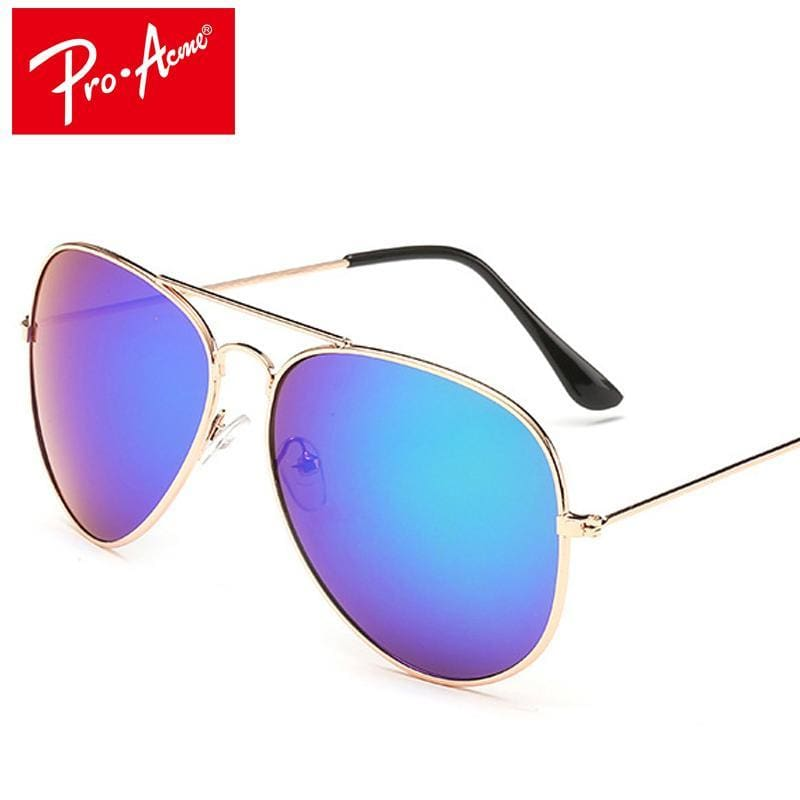 7ddfed7e5eb1 Pro Acme Classic Aviation Sunglasses Men Sunglasses Women Driving Mirror  Male Sun Glasses Points Pilot Oculos