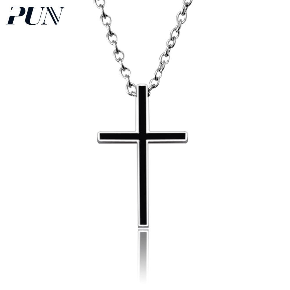 523cb806ad7776 Pun Mens Chain Mens Gold Silver Vintage Chocker Stainless Steel Neckless  Necklaces & Pendants Women Accessories