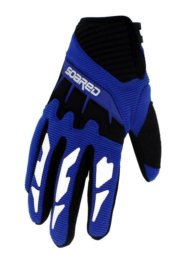 Soared 3 12 Years Old Kids Full Finger Cycling Gloves Skate Sports