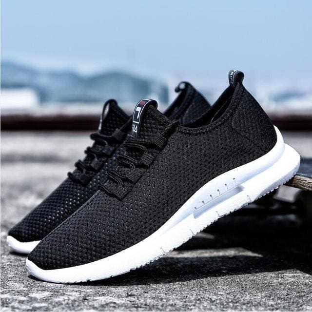 5504aebbb769 Spring And Autumn Classic Mens Shoes Low-Cut Casual Flyweather Mens Low To  Help Mens Casual Shoes