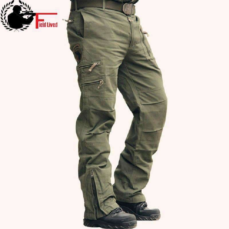 6496d4900ad Tactical Pants Male Camo Jogger Casual Plus Size Cotton Trousers Multi  Pocket Military Style Army Camouflage