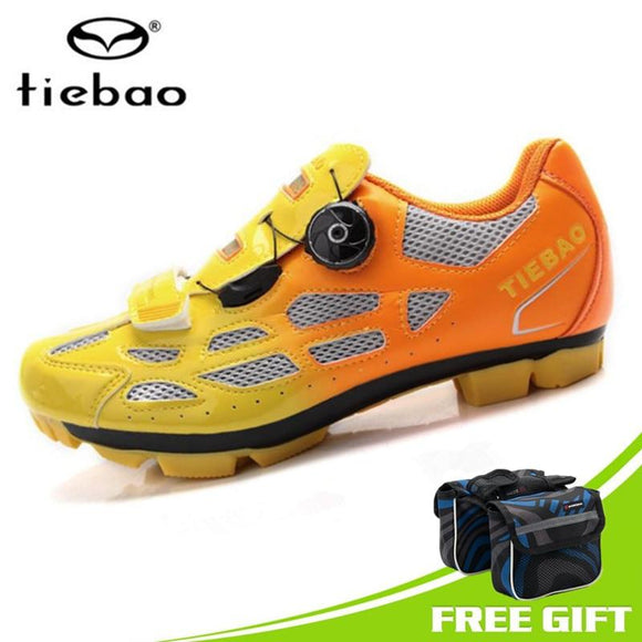 Tiebao Men Cycling Shoes Mountain Bike Breathable Shoes Non-slip MTB Bicycle Shoes Sneakers zapatos ciclismo superstar shoes-Shoes-Zodeys-B1259-10-Zodeys