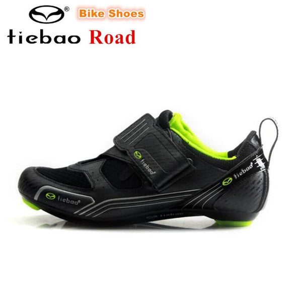 TIEBAO Professional Men sneakers Women Cycling Shoes zapatillas deportivas hombre Outdoor Bicycle Shoes Black Road Bike Shoes-Shoes-Zodeys-shoes-10-Zodeys