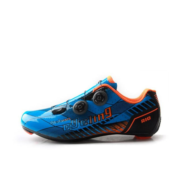 TIEBAO R1680 New Arrival Road Carbon Cycling Shoes Outdoor Professional Road Bicycle Shoes Women Men Carbon Outsole Bike Shoes-Shoes-Zodeys-Fluorescent Green-10-Zodeys