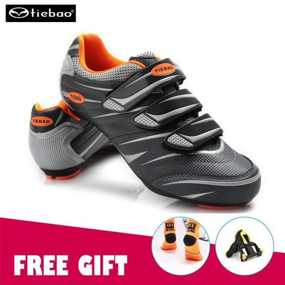 TIEBAO Riding Cycling Shoes Road Breathable Bicycle Shoes Cycle Sneakers sapato ciclismo men road bicicleta carretera sneakers-Shoes-Zodeys-A shoes with gift-10-Zodeys