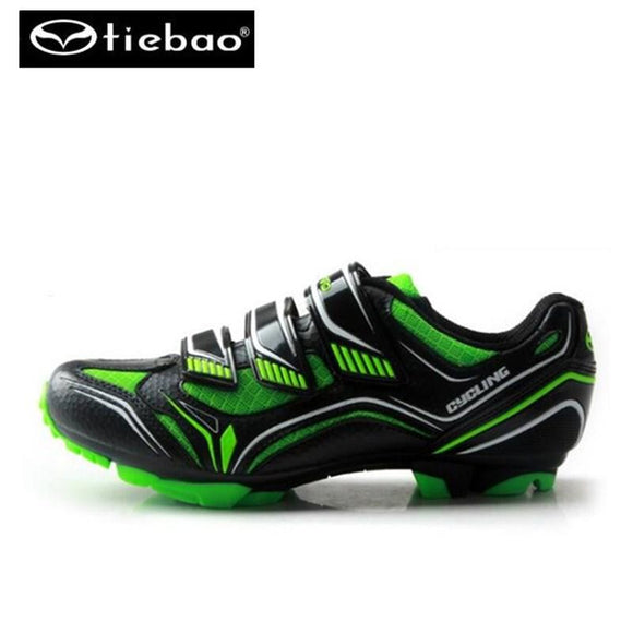Tiebao sapatilha ciclismo mtb cycling sapato ciclismo mtb sneakers Cycling Shoes mountain bike SPD chaussure vtt Mens PU MTB-Shoes-Zodeys-mtb shoes green-10-Zodeys