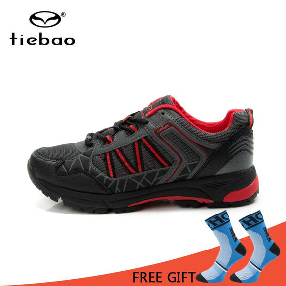Tiebao Self Lock MTB Cycling Shoes Leisure Bike Shoes Men Breathable Non Slip Bicycle Shoes sapatilha ciclismo-Shoes-Zodeys-black green-38-Zodeys
