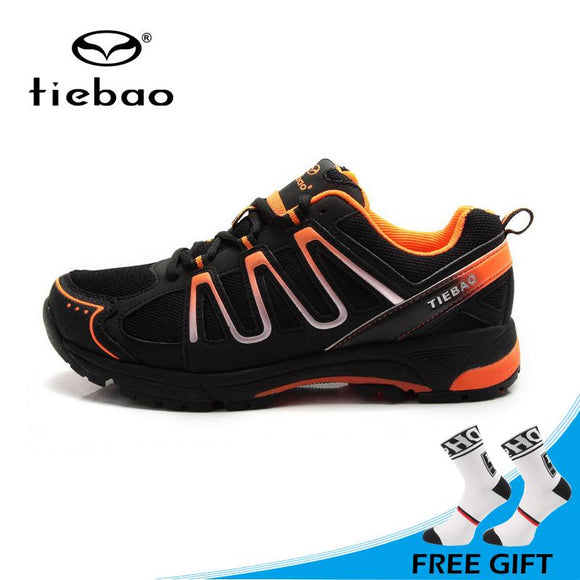 Tiebao Sports Leisure Cycling Shoes Mountain MTB Bike Shoes Unisex Breathable Athletic Shoes zapatillas de ciclismo-Shoes-Zodeys-Black green-10-Zodeys
