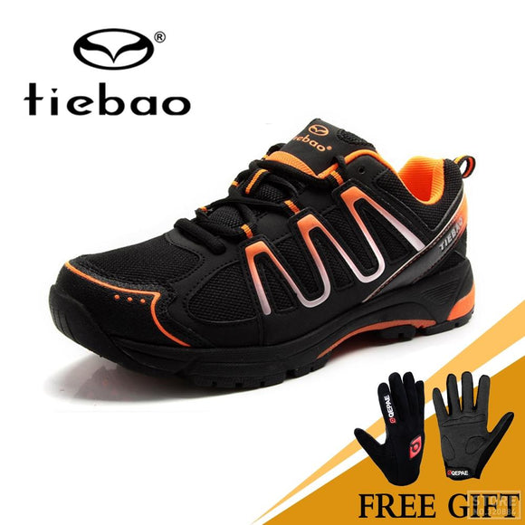 Tiebao Winter Cycling Equipment High Help Road Racing MTB PVC Soles Mountain Bike Shoes TB22-B1285 Triatlon Zapatillas Ciclismo-Shoes-Zodeys-Green black-38-Zodeys