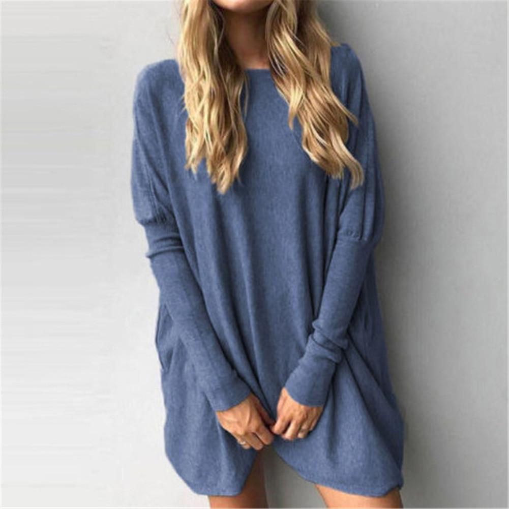 7d0a536d301 Top Women Casual Loose T-Shirt Long Sleeve Tops T-shirt Korean Fashion Tees