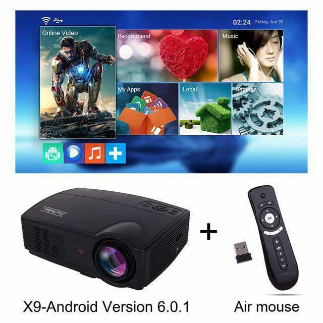 Led Projector 3500 Lumens Beamer 1280 800 Lcd Projector Tv