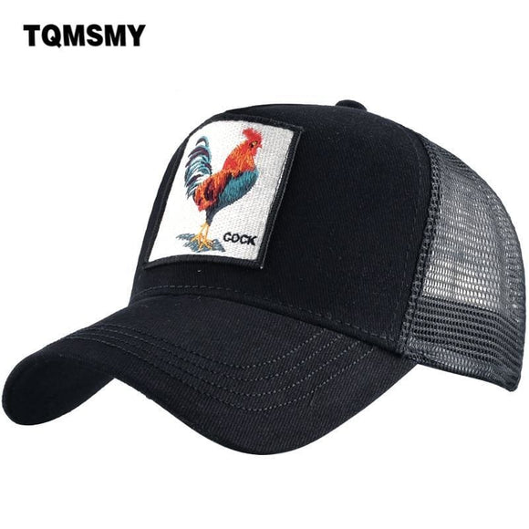Tqmsmy Men Women Baseball Cap Hats For Men Trucker Hat Cock Adjustable Cotton Mesh Snapback Hat Bone Gorras Casquette Tmdhj Zodeys