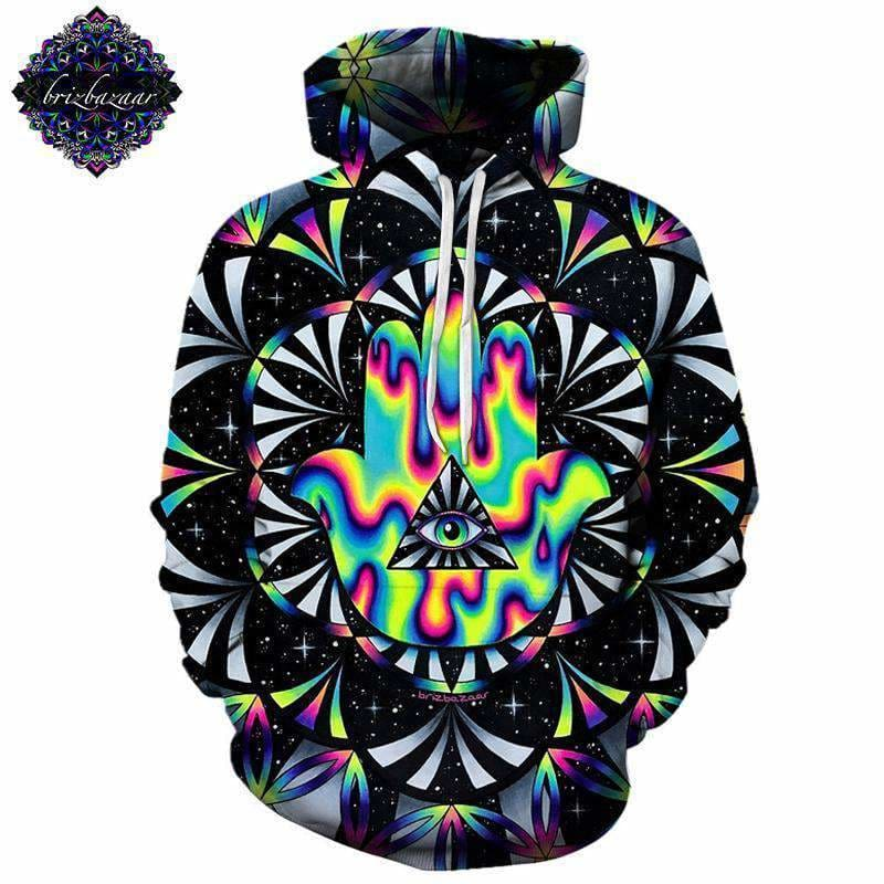 20e593e7564f Trippy Hamsa By Brizbazaar Art 3D Hoodies Men Hoodie Autumn Sweatshirt  Unisex Pullover Novelty Jackets Tracksuit