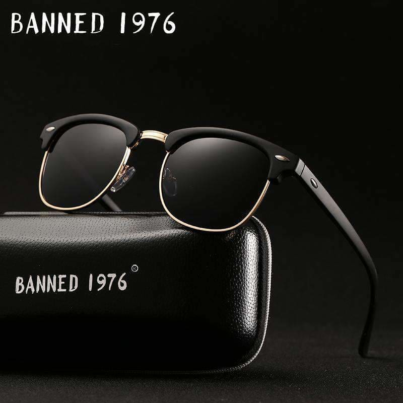 9d263a2aacfb Uv400 Hd Polarized Men Women Sunglasses Classic Fashion Retro Brand Sun  Glasses Coating Drive Shades Gafas