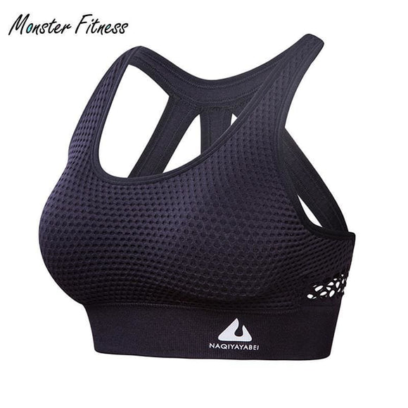 Women Sports Bra High Impact For Fitness Yoga Running Pad Cropped Top Sportswear Tank Tops Sports Push Up Bra Women Apparel & Accessories >