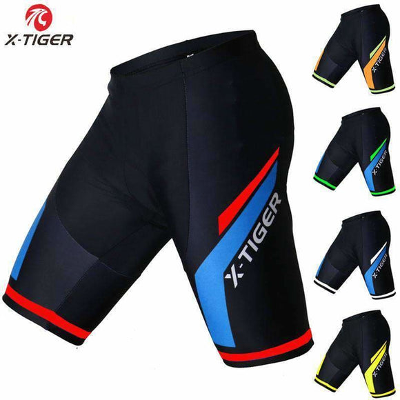 X-Tiger Coolmax 5D Padded Cycling Shorts Shockproof Mtb Bicycle Shorts Road Bike Shorts Ropa Ciclismo Tights For Man Women Apparel &