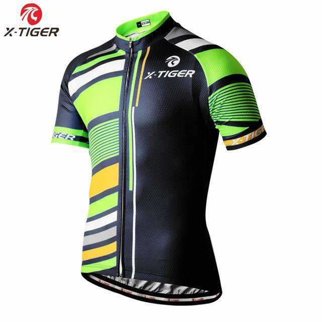 X-Tiger Pro Cycling Jerseys 100% Polyester Mans Bicycle Clothing Wear Mountain Bike Clothes Ropa Ciclismo Cycling Clothing Cycling Jerseys