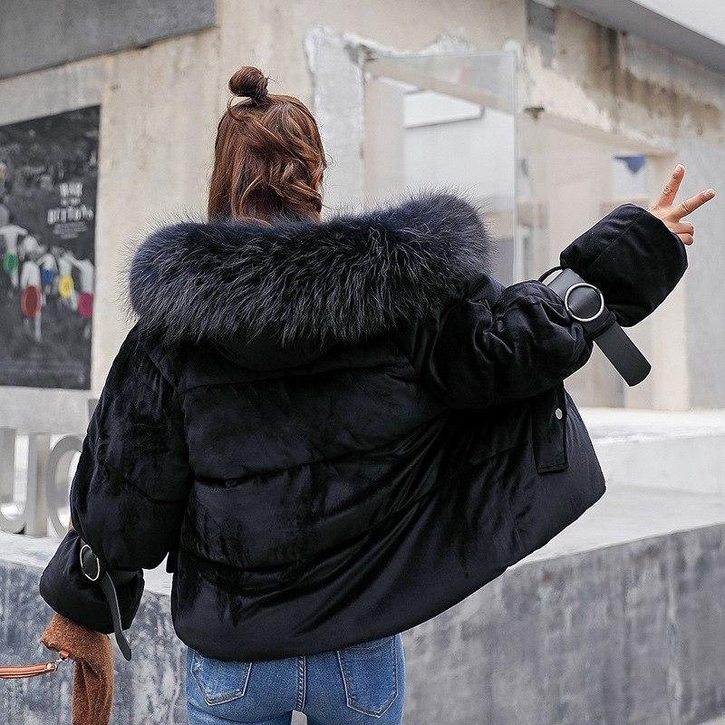 0d4c78ef9fbf Yzeqi Winter Padded Jacket Women Fur Coat Cotton 2018 Harajuku Women Parkas  Bread Clothes Female Students