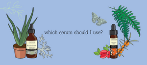 A link to our serum guide - which one is right for your skin