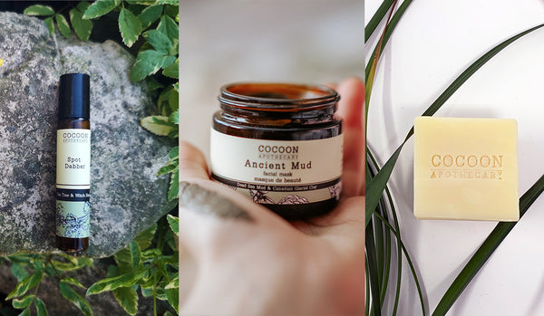 cocoon products that resolve congested summer skin