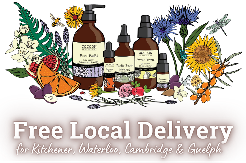 free local delivery in Kitchener, Waterloo, Cambridge and Guelph