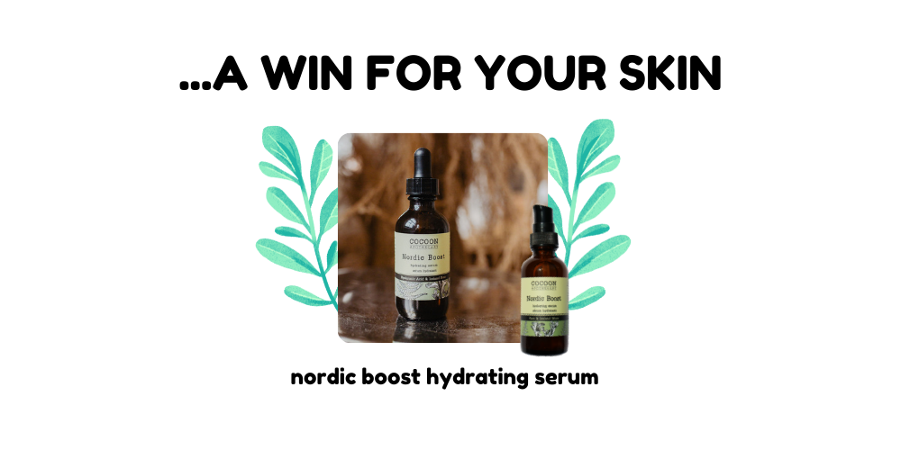 product recommendation, nordic booste hydrating serum