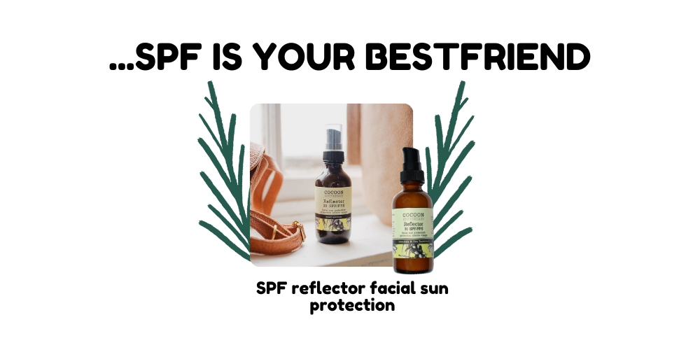 product recommendation, reflector facial sun protection
