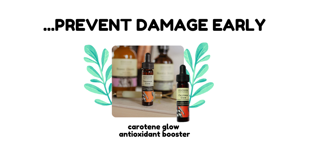 product recommendation, carotene glow antioxidant booster