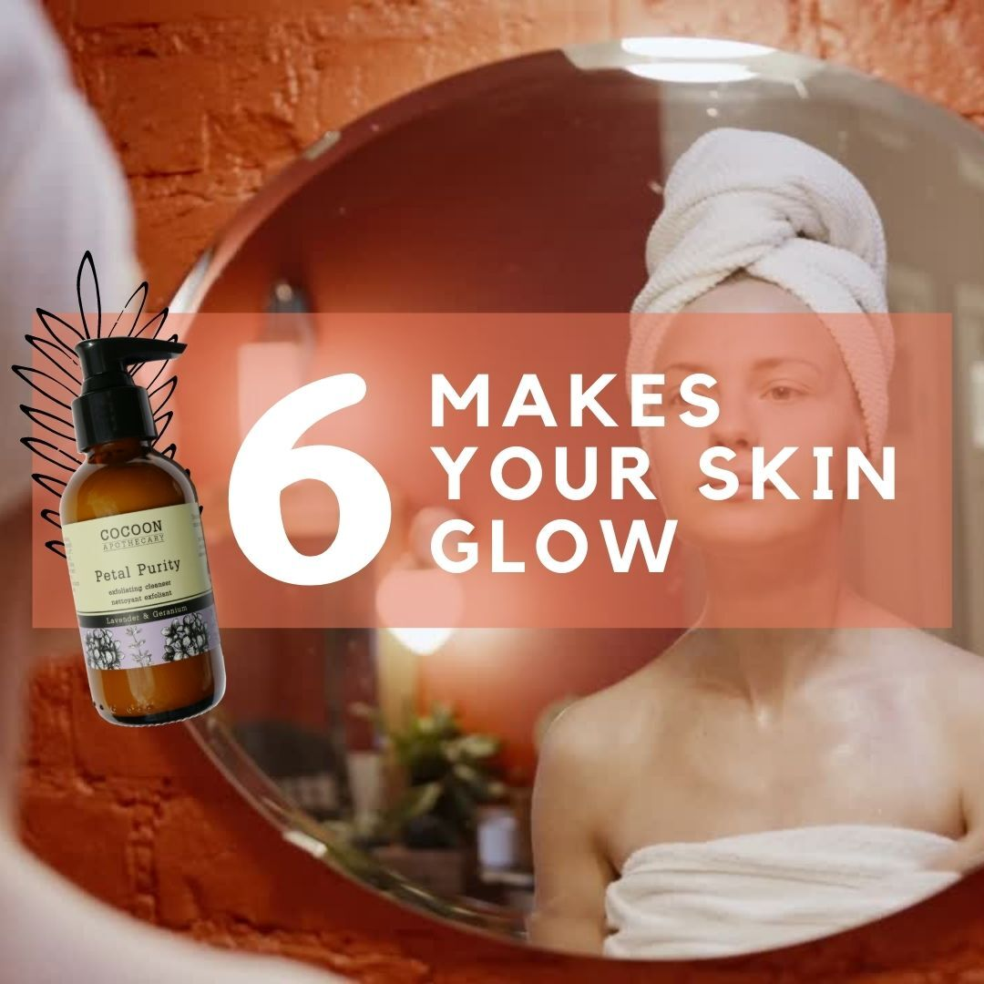 makes your skin glow