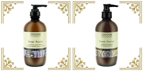 exfoliating facial cleansers