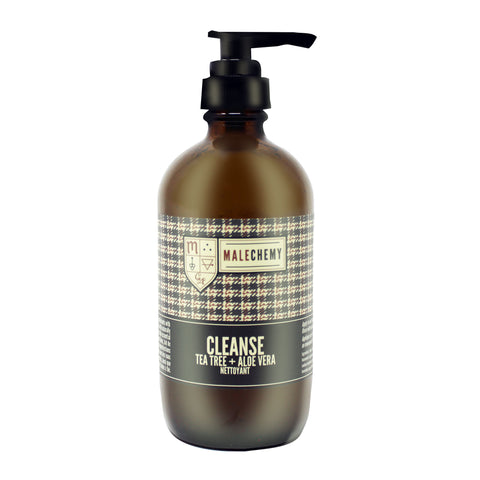Gentle Natural Facial Cleanser for Men