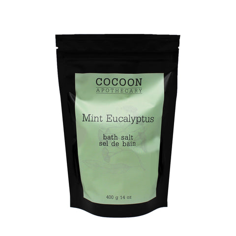 mint eucalyptus bath salt