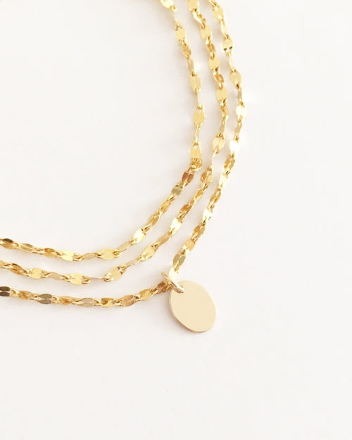 Kloe Gold Necklace