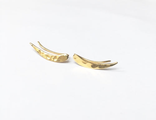 Athena Gold Earrings