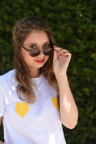 Love Tee-shirt - Yellow