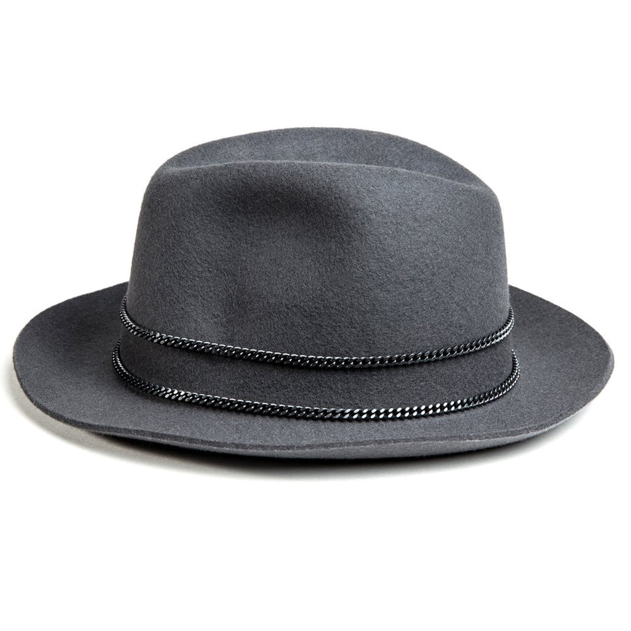 Grey and Black Jappeloup Trilby