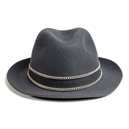 Grey and Silver Jappeloup Trilby