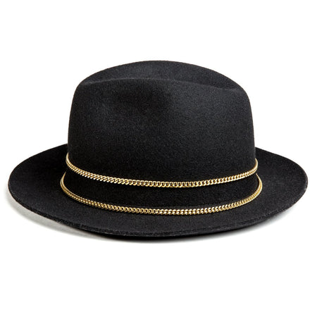 Black and Gold Jappeloup Trilby