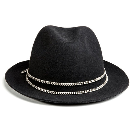 Black and Silver Jappeloup Trilby