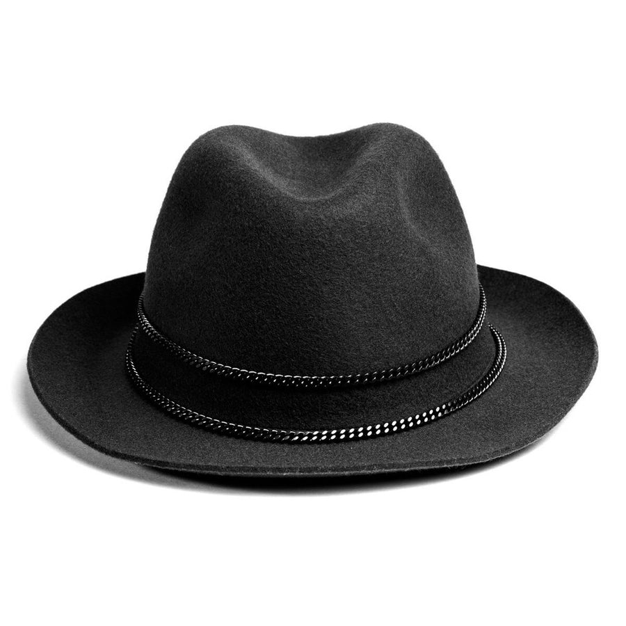 61a0001e Black Chrome Jappeloup Trilby; Black Chrome Jappeloup Trilby ...