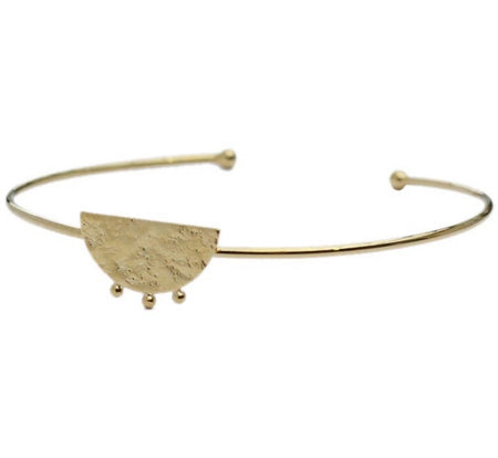 Moon Gold bangle