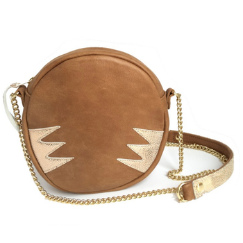 Camel Eclipse Circle Bag