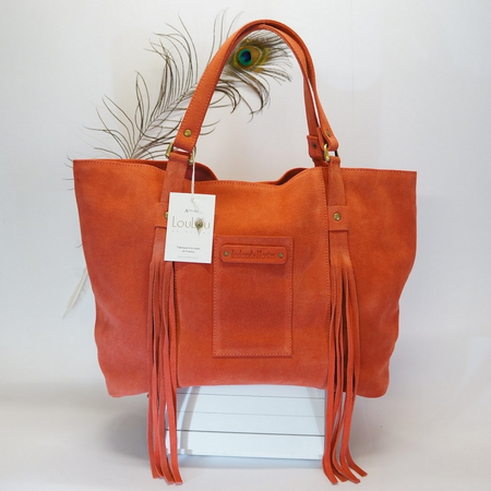 Fred Coral Tote Bag