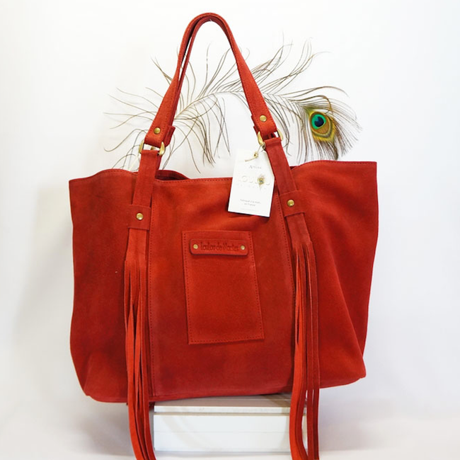 Fred Red Tote Bag