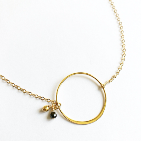Celeste Gold Necklace