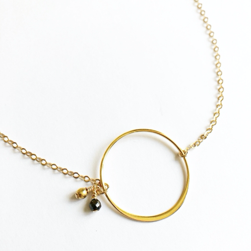 Celeste 14 Karat Gold Necklace