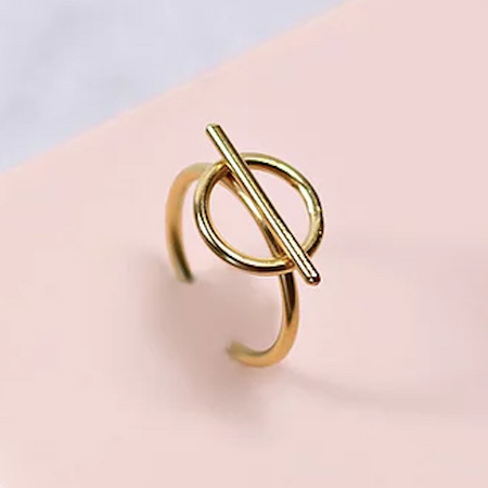 Hope Gold Ring